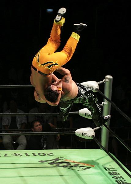 Akitoshi Saito Superplexe Yone